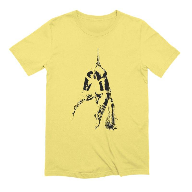kinbaku crab suspension Men's T-Shirt by FredRx's Artist Shop