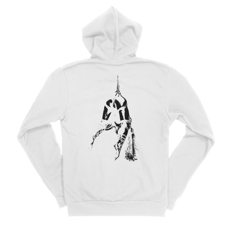 kinbaku crab suspension Men's Sponge Fleece Zip-Up Hoody by FredRx's Artist Shop
