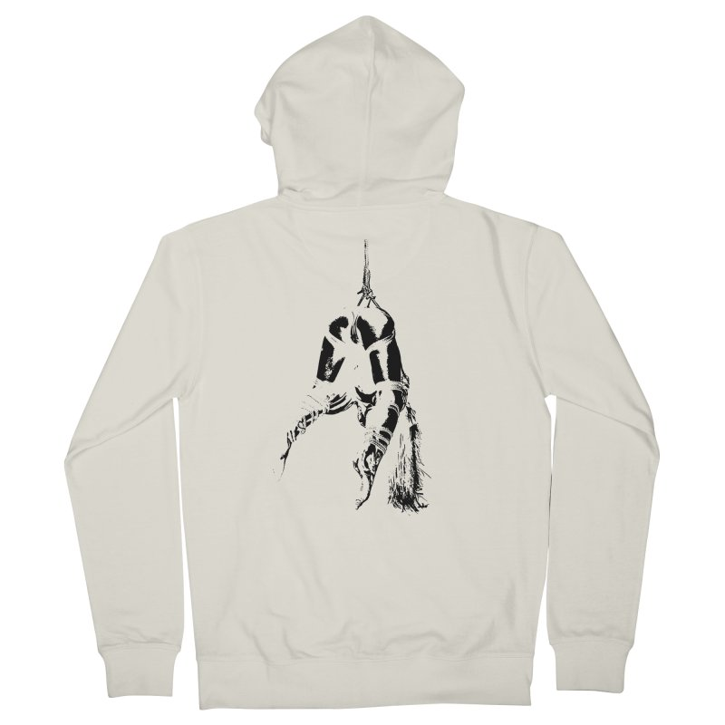 kinbaku crab suspension Women's French Terry Zip-Up Hoody by FredRx's Artist Shop