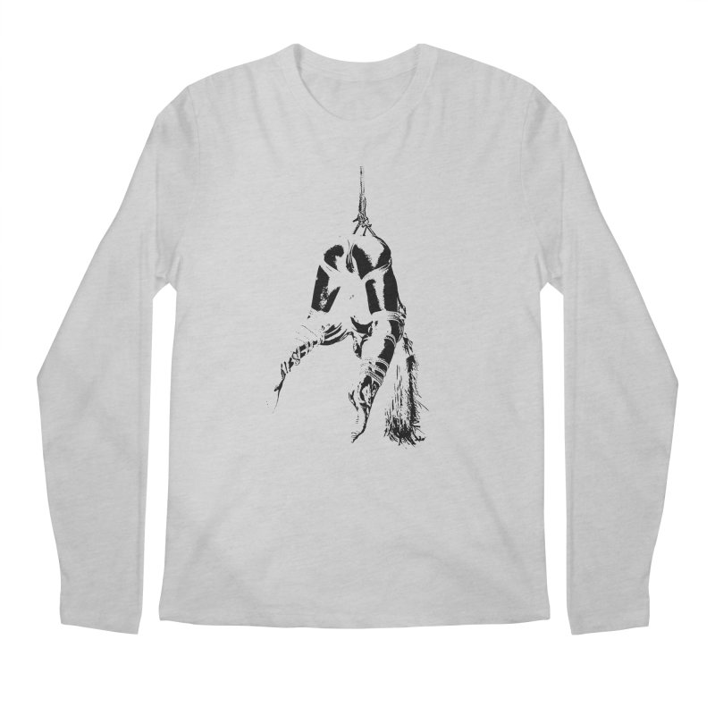 kinbaku crab suspension Men's Regular Longsleeve T-Shirt by FredRx's Artist Shop