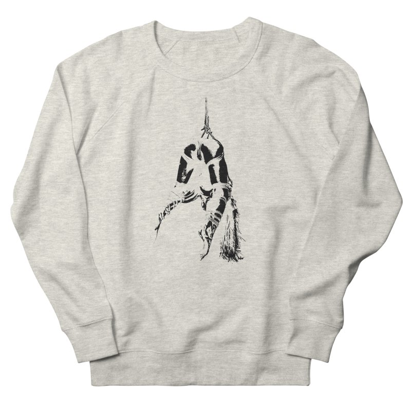 kinbaku crab suspension Men's French Terry Sweatshirt by FredRx's Artist Shop