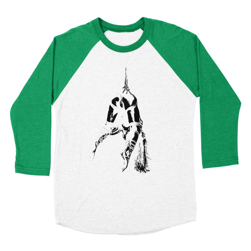 kinbaku crab suspension Women's Baseball Triblend T-Shirt by FredRx's Artist Shop