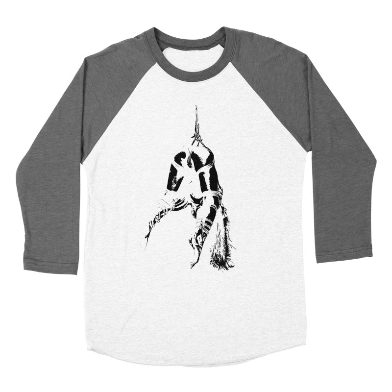 kinbaku crab suspension Men's Baseball Triblend T-Shirt by FredRx's Artist Shop
