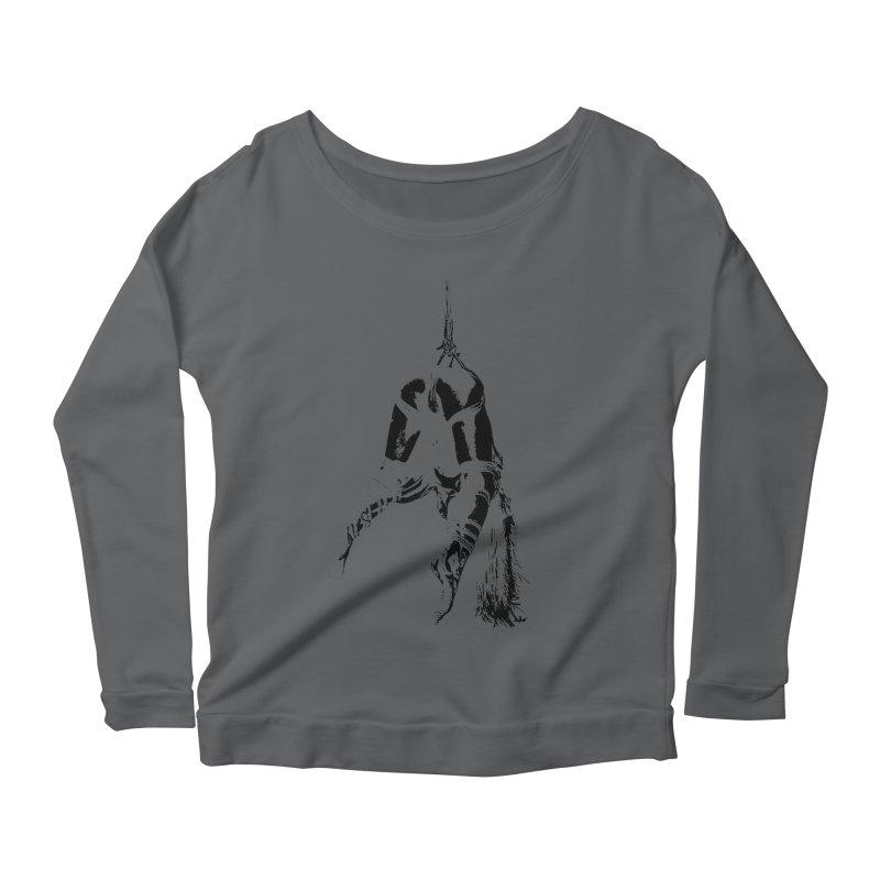 kinbaku crab suspension Women's Scoop Neck Longsleeve T-Shirt by FredRx's Artist Shop