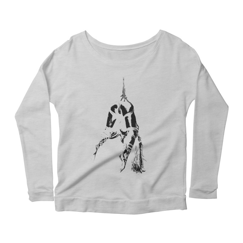 kinbaku crab suspension Women's Longsleeve Scoopneck  by FredRx's Artist Shop