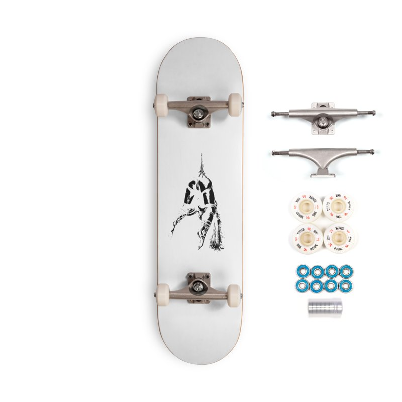 kinbaku crab suspension Accessories Skateboard by FredRx's Artist Shop