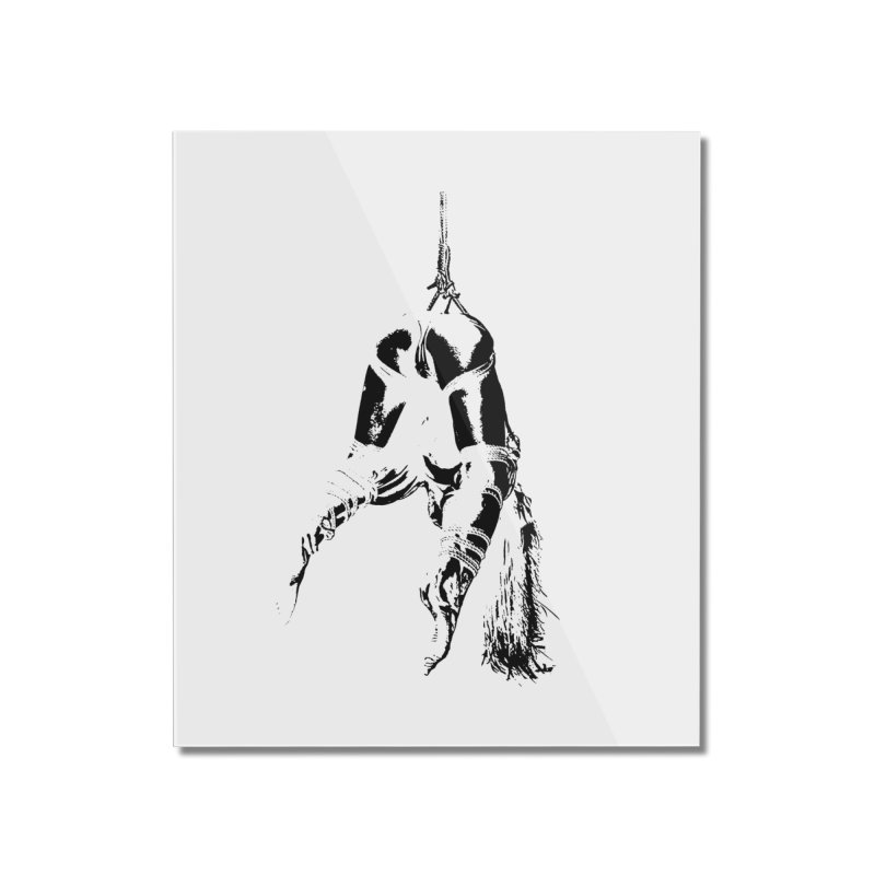 kinbaku crab suspension Home Mounted Acrylic Print by FredRx's Artist Shop