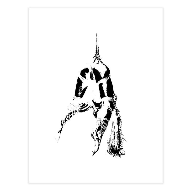 kinbaku crab suspension Home Fine Art Print by FredRx's Artist Shop