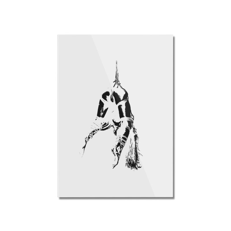 kinbaku crab suspension Home Mounted Acrylic Print by FredRx's Artist Shop