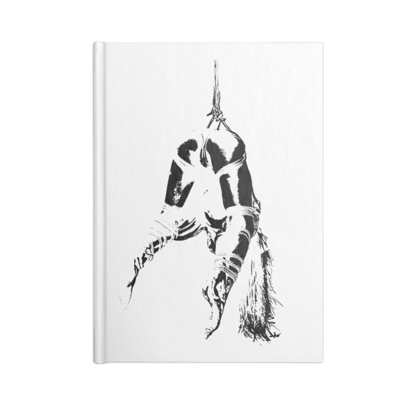 kinbaku crab suspension Accessories Lined Journal Notebook by FredRx's Artist Shop