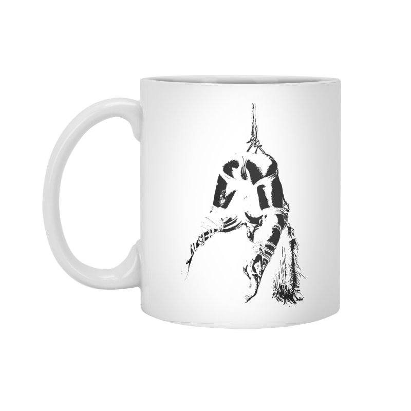 kinbaku crab suspension Accessories Standard Mug by FredRx's Artist Shop