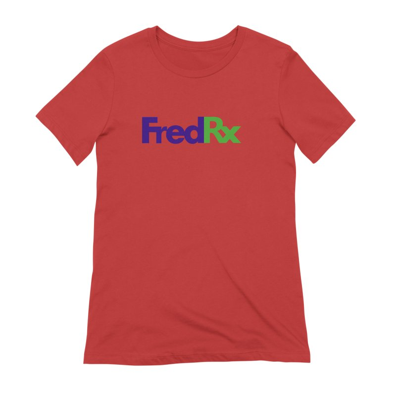 FredRx logo Women's Extra Soft T-Shirt by FredRx's Artist Shop