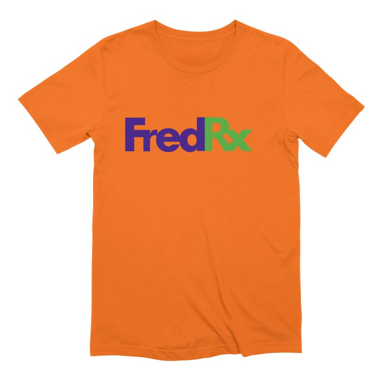 FredRx logo Men's Extra Soft T-Shirt by FredRx's Artist Shop