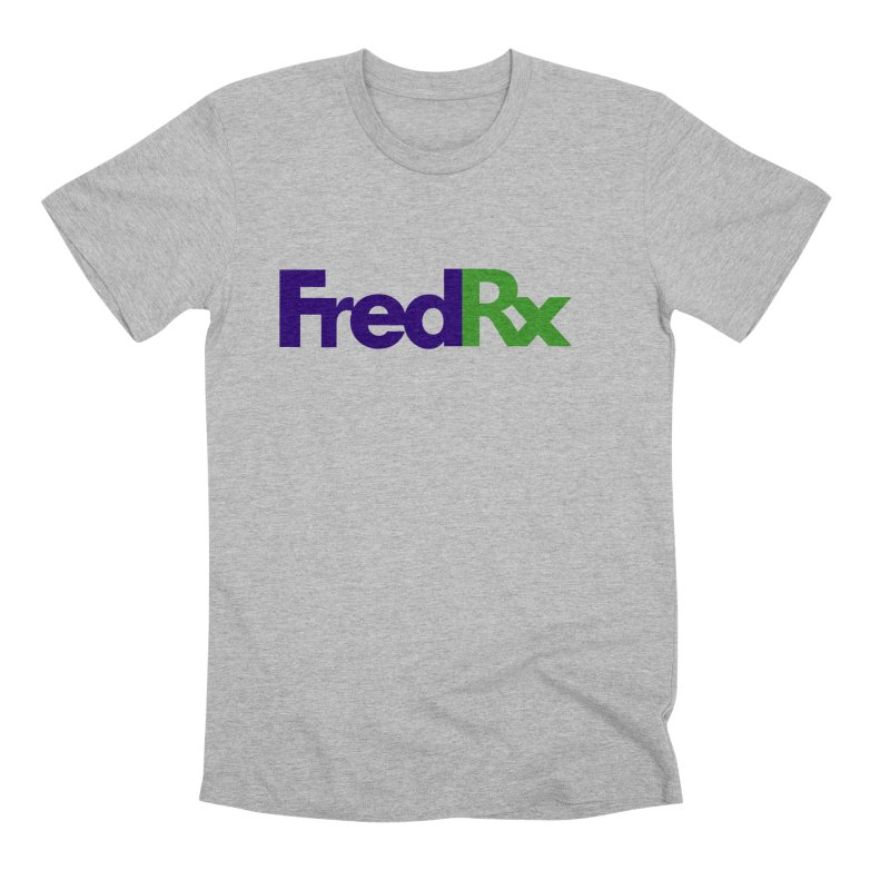 FredRx logo Men's Premium T-Shirt by FredRx's Artist Shop