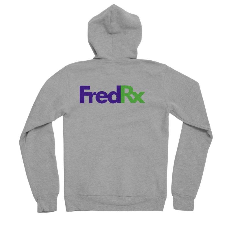 FredRx logo Women's Sponge Fleece Zip-Up Hoody by FredRx's Artist Shop