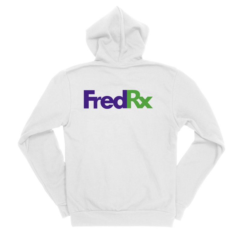 FredRx logo Men's Sponge Fleece Zip-Up Hoody by FredRx's Artist Shop