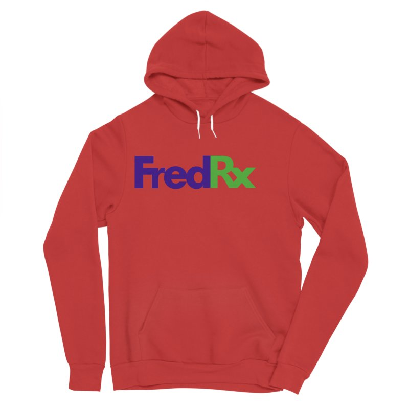 FredRx logo Women's Sponge Fleece Pullover Hoody by FredRx's Artist Shop