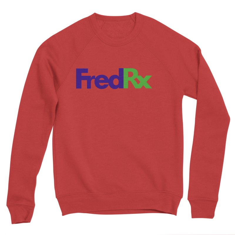 FredRx logo Women's Sponge Fleece Sweatshirt by FredRx's Artist Shop