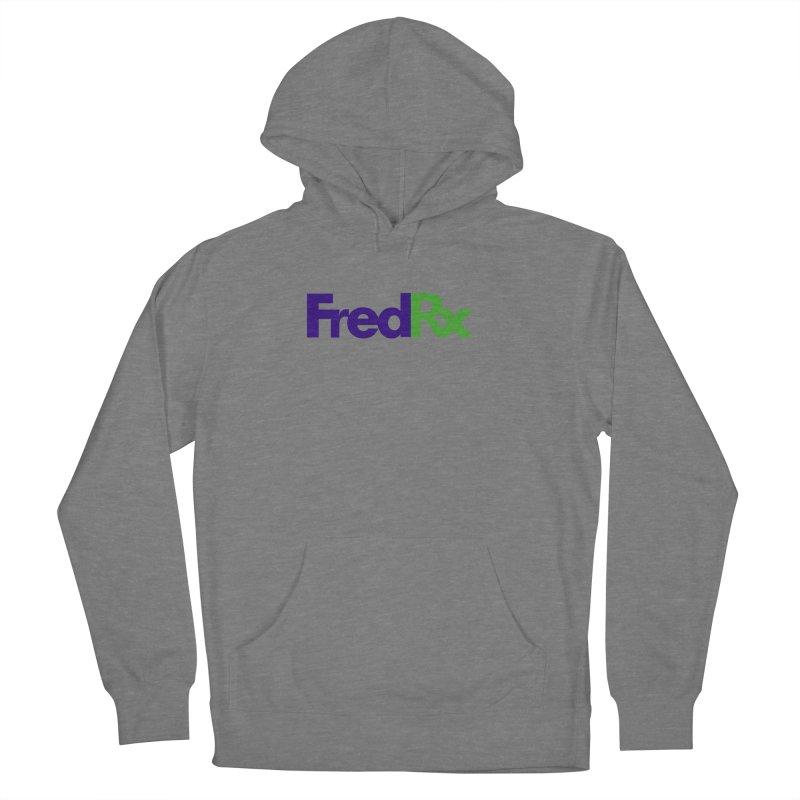FredRx logo Women's French Terry Pullover Hoody by FredRx's Artist Shop