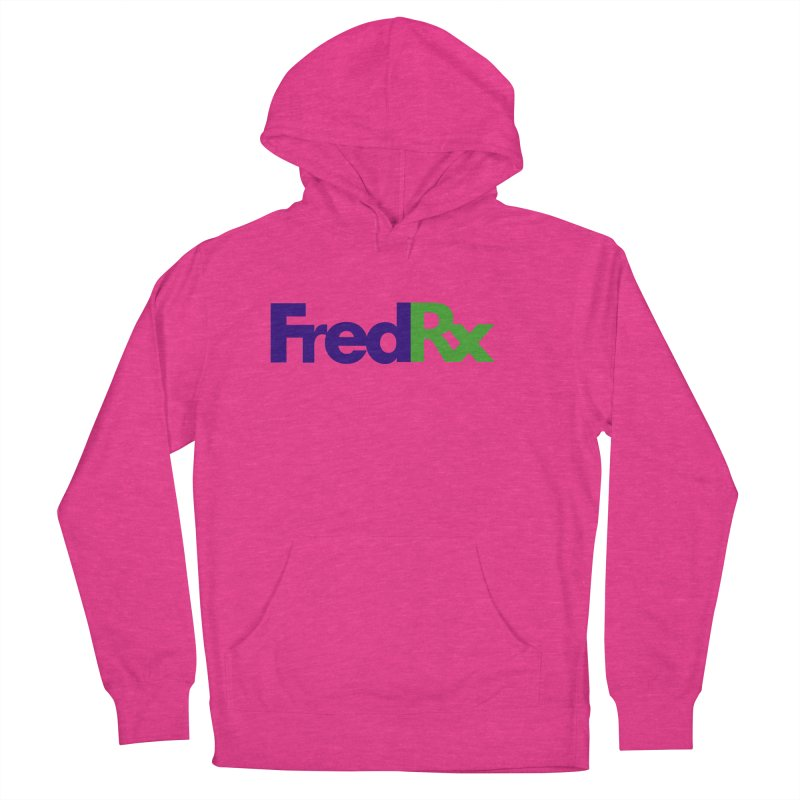 FredRx logo Men's French Terry Pullover Hoody by FredRx's Artist Shop