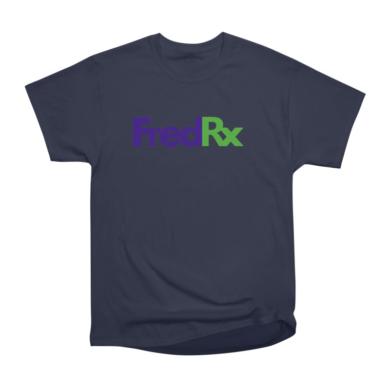FredRx logo Men's Heavyweight T-Shirt by FredRx's Artist Shop