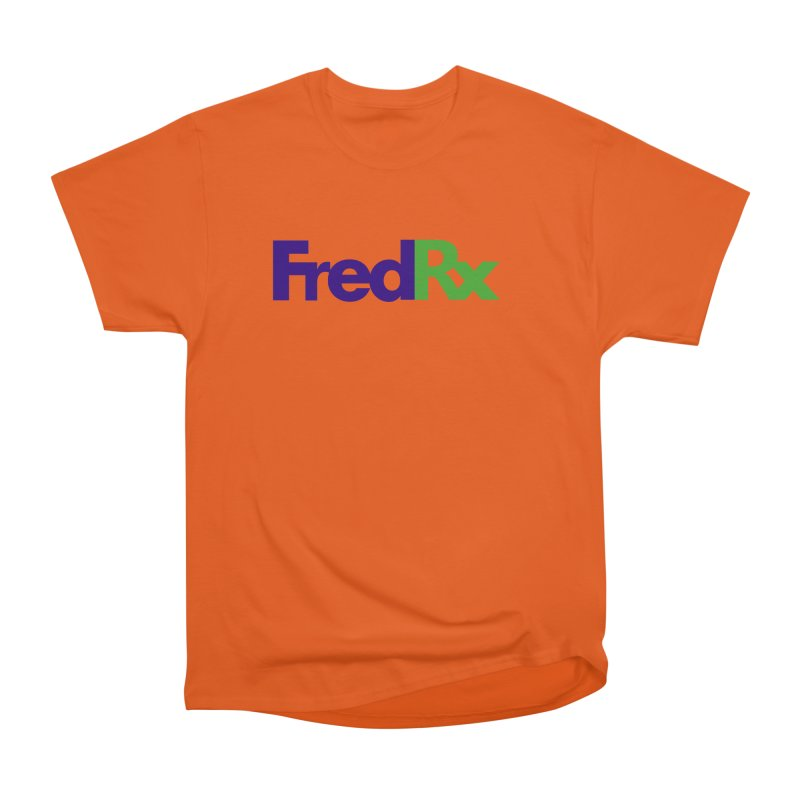FredRx logo Men's T-Shirt by FredRx's Artist Shop