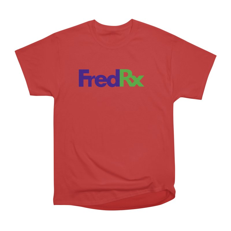 FredRx logo Men's Heavyweight T-Shirt by FredRx's Artist Shop