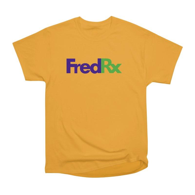 FredRx logo Women's Heavyweight Unisex T-Shirt by FredRx's Artist Shop