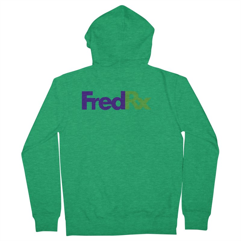 FredRx logo Women's Zip-Up Hoody by FredRx's Artist Shop