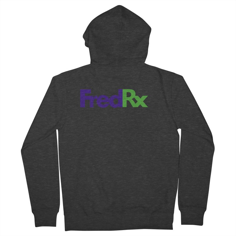 FredRx logo Women's French Terry Zip-Up Hoody by FredRx's Artist Shop