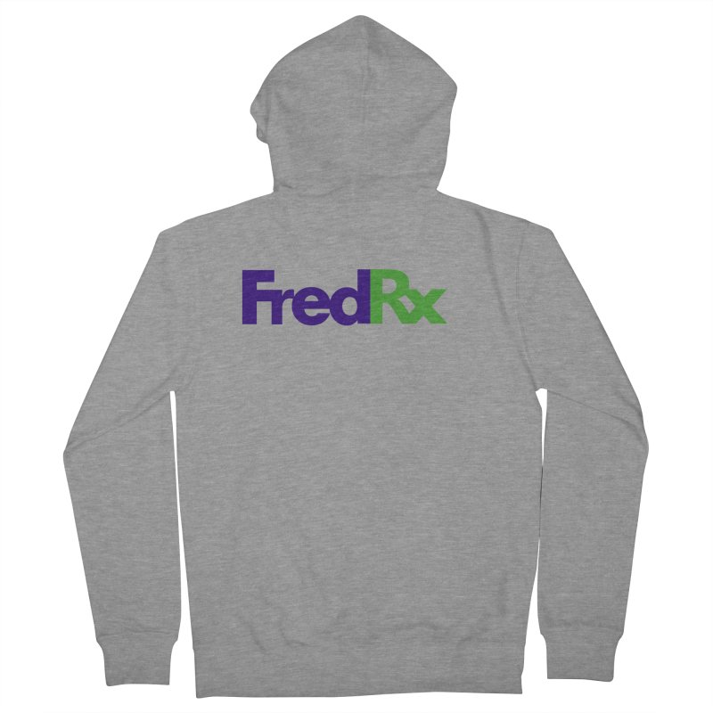 FredRx logo Men's Zip-Up Hoody by FredRx's Artist Shop