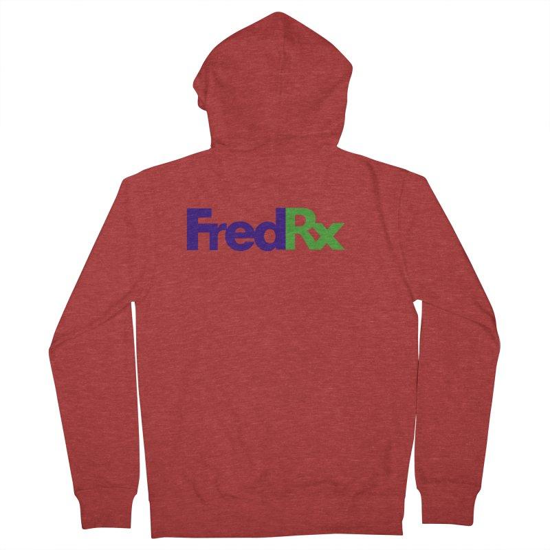 FredRx logo Men's Zip-Up Hoody by FredRx's Artist Shop