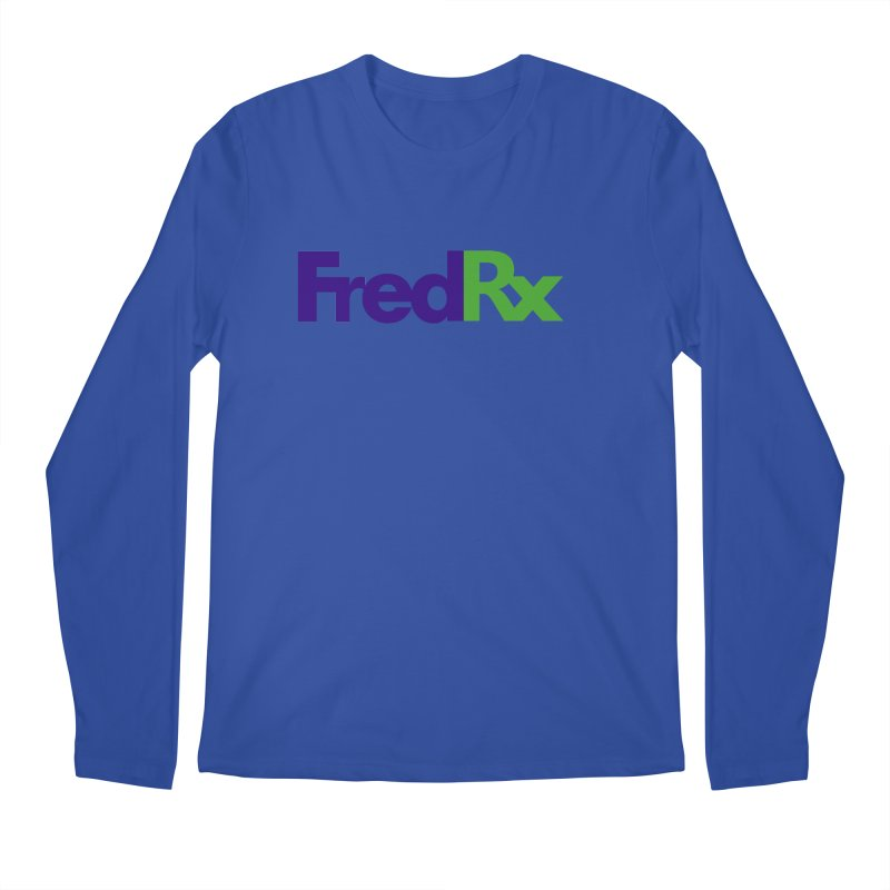 FredRx logo Men's Regular Longsleeve T-Shirt by FredRx's Artist Shop