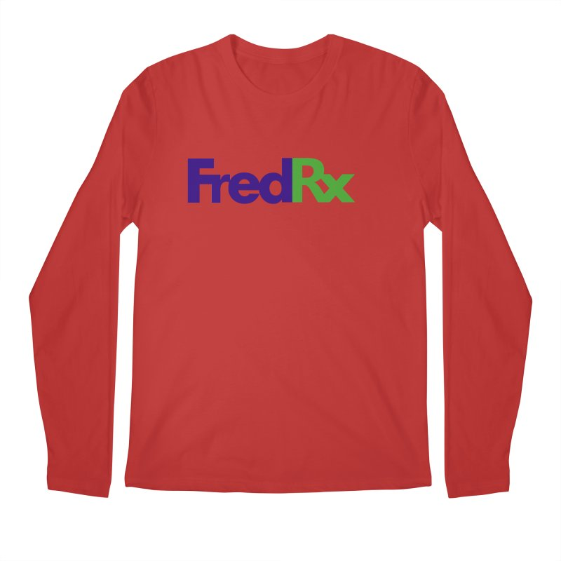 FredRx logo Men's Longsleeve T-Shirt by FredRx's Artist Shop