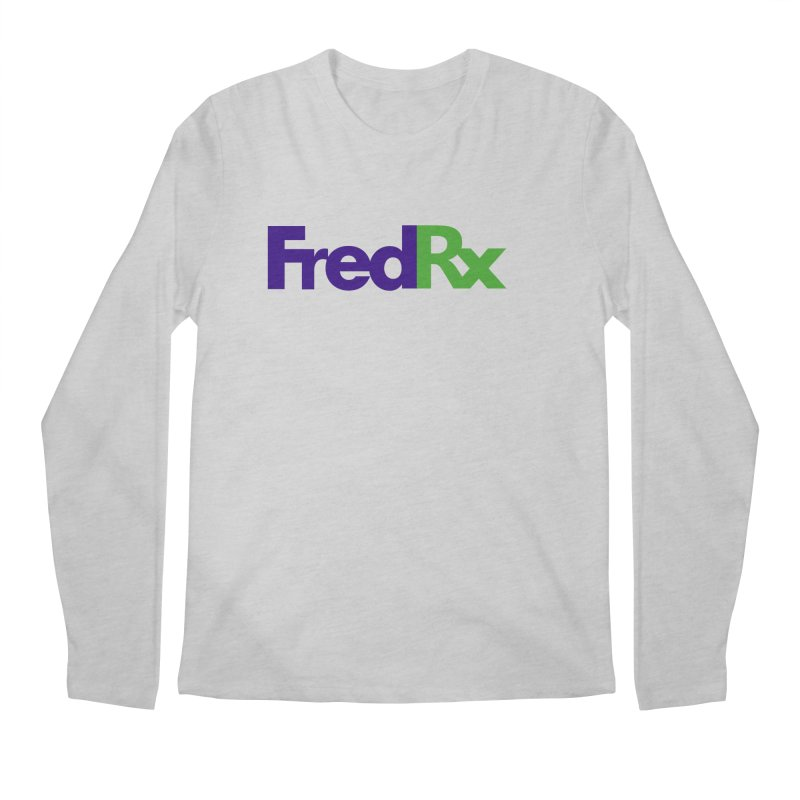 FredRx logo Men's Regular Longsleeve T-Shirt by FredRx's Artist Shop