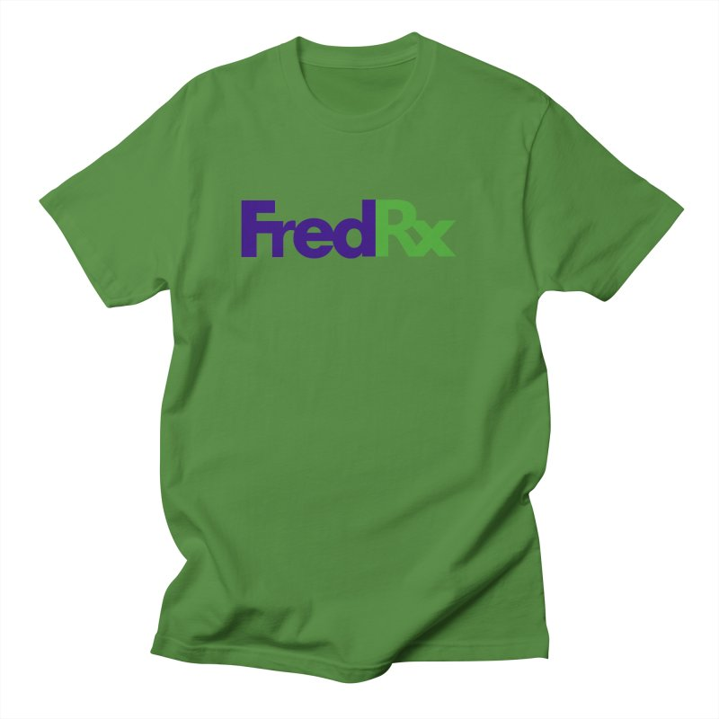 FredRx logo Men's Regular T-Shirt by FredRx's Artist Shop