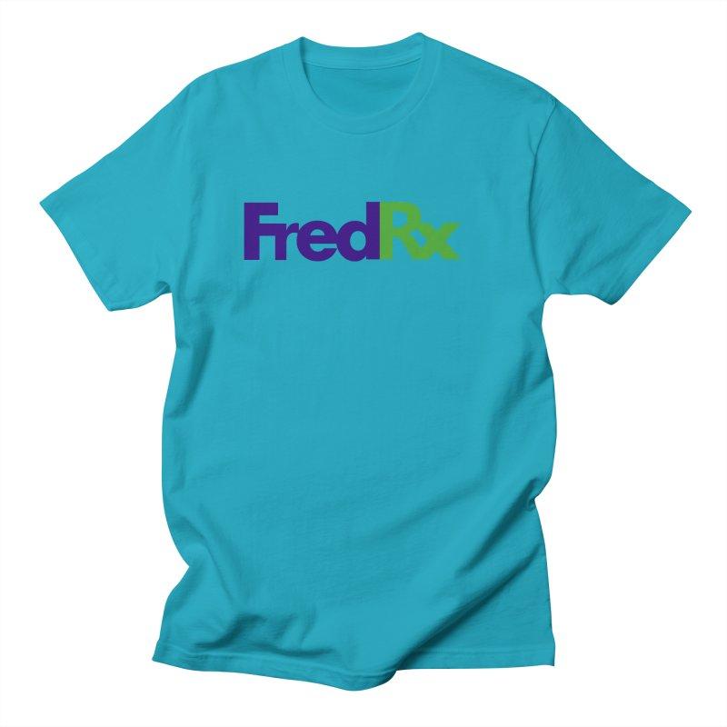 FredRx logo Men's Regular T-Shirt by FredRx's Artist Shop