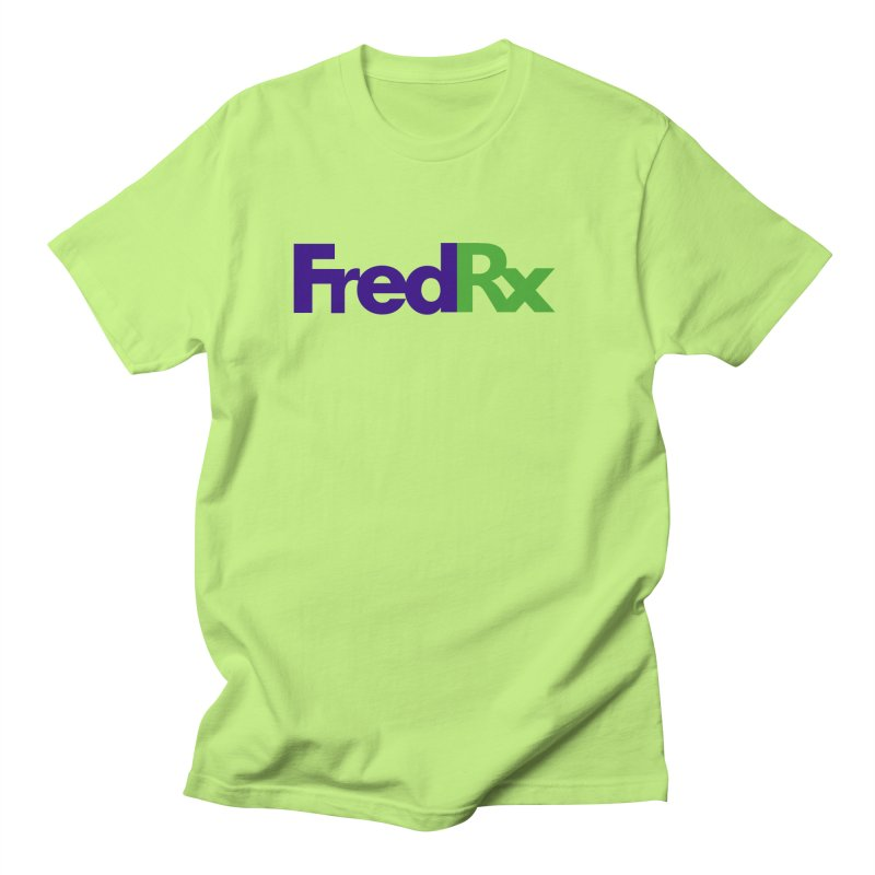 FredRx logo Women's Regular Unisex T-Shirt by FredRx's Artist Shop