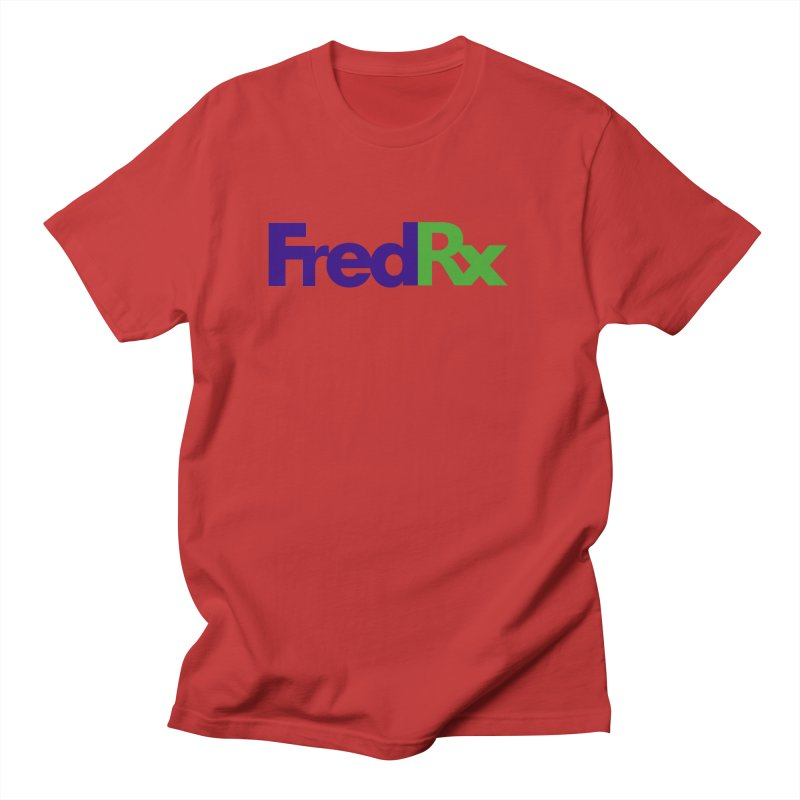 FredRx logo Women's Regular Unisex T-Shirt by FredRx's Artist Shop