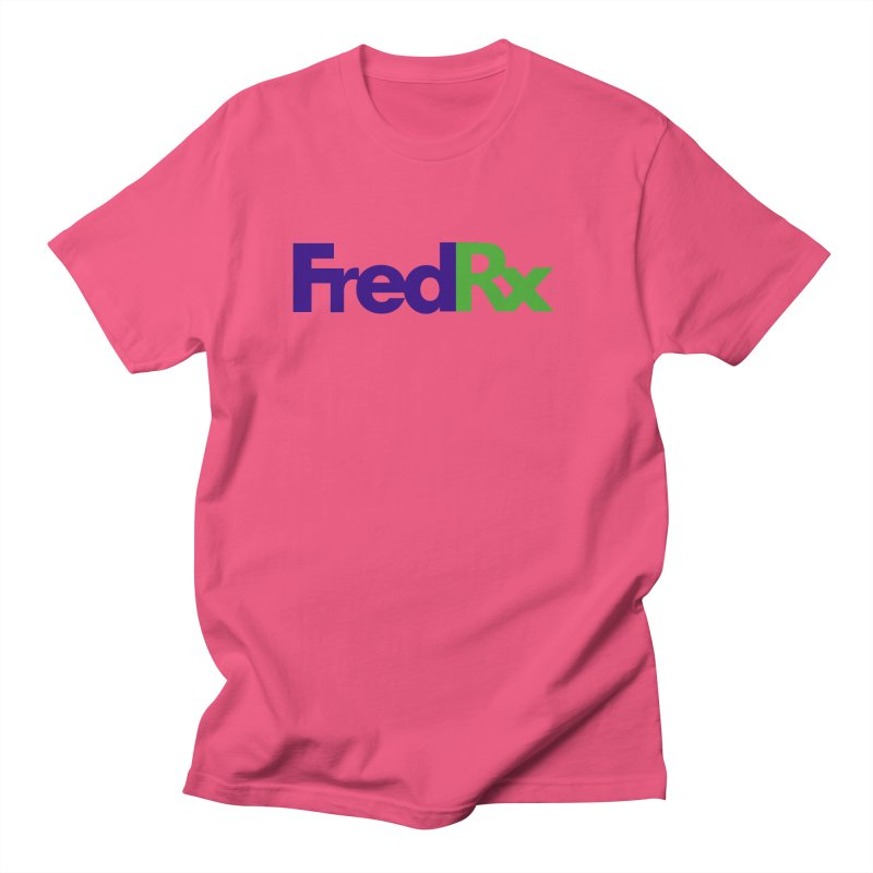 FredRx logo Men's T-Shirt by FredRx's Artist Shop