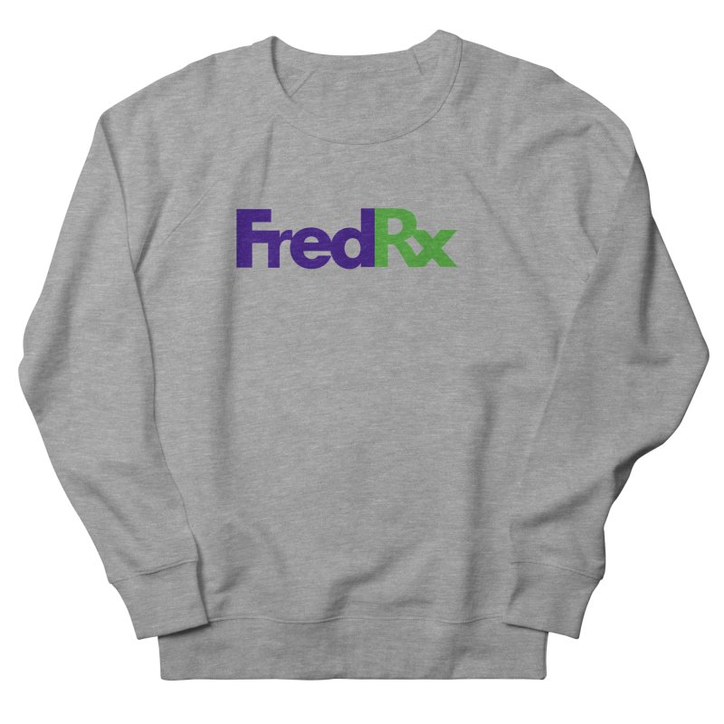 FredRx logo Men's French Terry Sweatshirt by FredRx's Artist Shop
