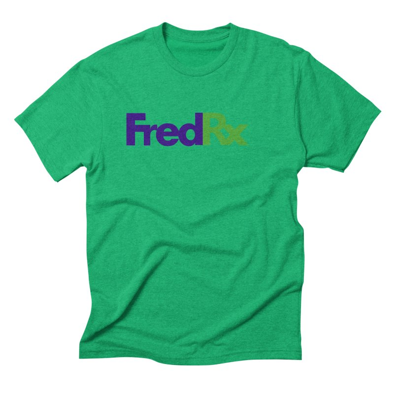 FredRx logo Men's Triblend T-Shirt by FredRx's Artist Shop