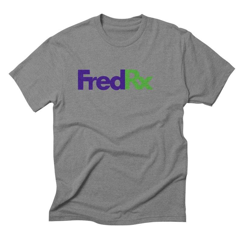 FredRx logo Men's Triblend T-Shirt by FredRx's Artist Shop