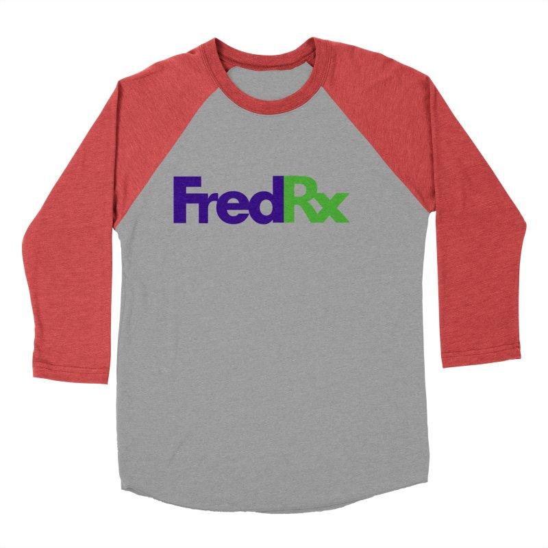 FredRx logo Women's Baseball Triblend Longsleeve T-Shirt by FredRx's Artist Shop
