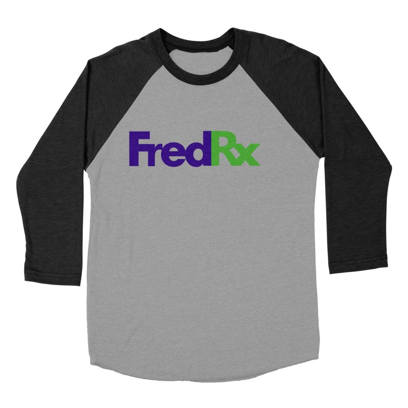 FredRx logo Women's Baseball Triblend T-Shirt by FredRx's Artist Shop