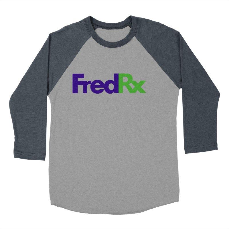 FredRx logo Men's Baseball Triblend Longsleeve T-Shirt by FredRx's Artist Shop