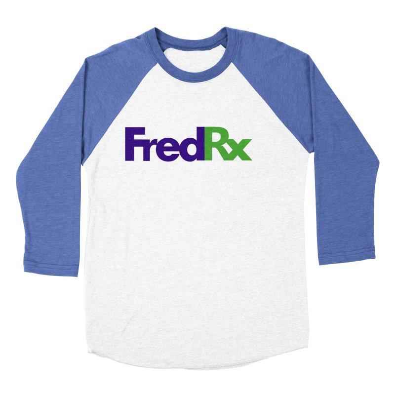 FredRx logo Men's Baseball Triblend T-Shirt by FredRx's Artist Shop
