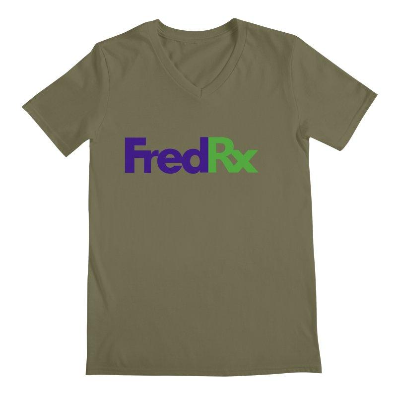 FredRx logo Men's V-Neck by FredRx's Artist Shop