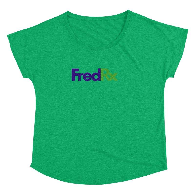 FredRx logo Women's Dolman by FredRx's Artist Shop