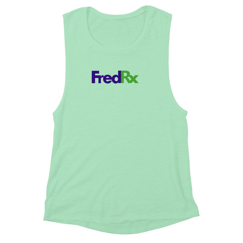 FredRx logo Women's Muscle Tank by FredRx's Artist Shop
